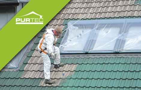 Wetterfeste Dachbeschichtung für Ziegeldächer